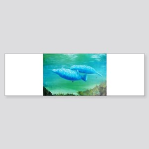 manatee Sticker (Bumper)