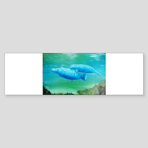 manatee Sticker (Bumper)