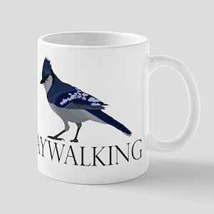 Jaywalking Mug