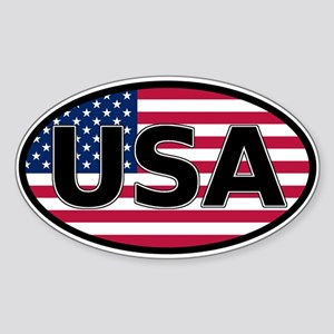 United States of America USA Flag Car Bumper Stick