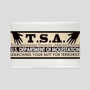 Funny TSA T.S.A. Rectangle Magnet