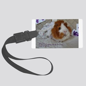 Guinea Pigs Got the Blues Luggage Tag