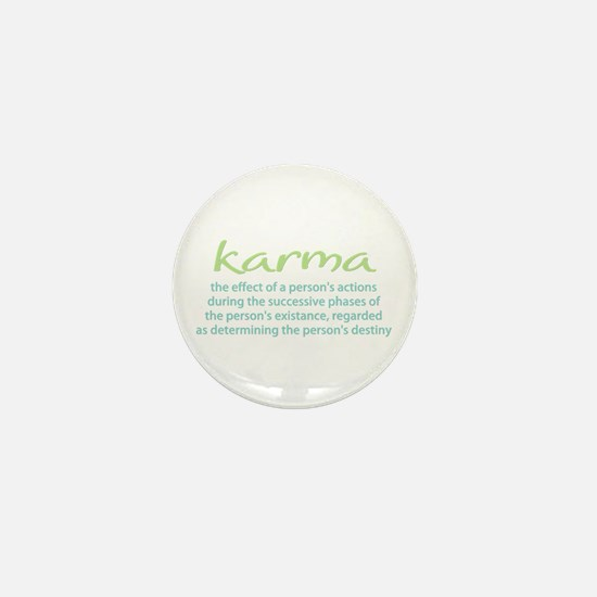Karma Mini Button