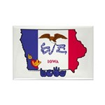 ILY Iowa Rectangle Magnet (100 pack)