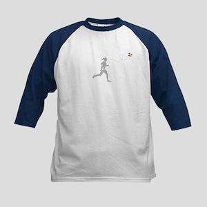 Butterfly Runner Kids Baseball Jersey