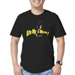 Hooked Men's Fitted T-Shirt (dark)