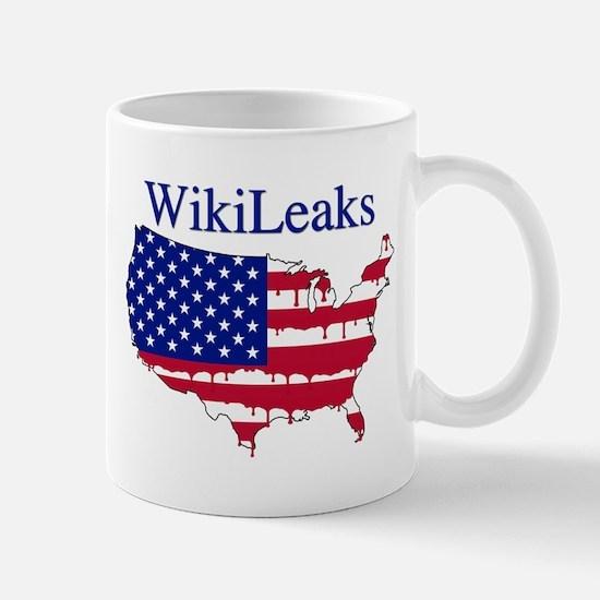 WikiLeaks America Mug