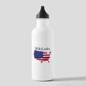WikiLeaks America Stainless Water Bottle 1.0L