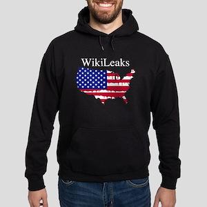 WikiLeaks America Hoodie (dark)