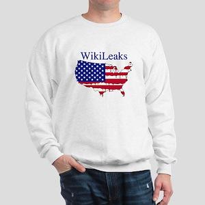 WikiLeaks America Sweatshirt
