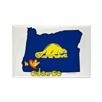 ILY Oregon Rectangle Magnet (10 pack)