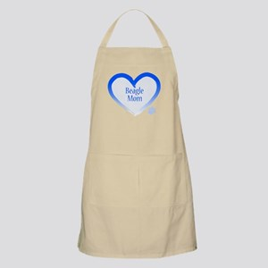 Beagle Blue Heart Apron
