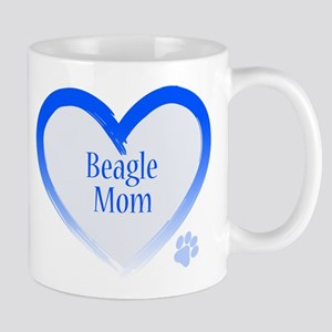 Beagle Blue Heart Mug