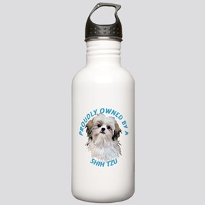 Proudly Owned Shih Tzu Stainless Water Bottle 1.0L