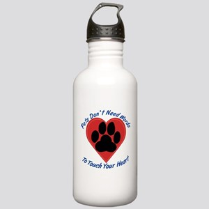 Touch Your Heart Stainless Water Bottle 1.0L