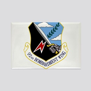 92nd Bomb Wing Rectangle Magnet