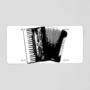 accordion Aluminum License Plate