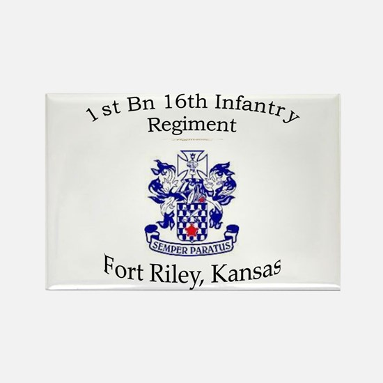 1st Bn 16th Infantry Rectangle Magnet