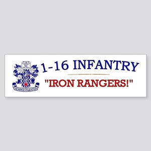 1st Bn 16th Infantry Sticker (Bumper)