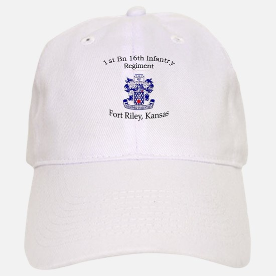 1st Bn 16th Infantry Baseball Baseball Cap