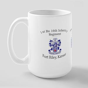 1st Bn 16th Infantry Large Mug