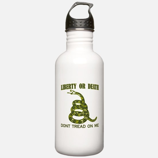 Unique Join or die Water Bottle