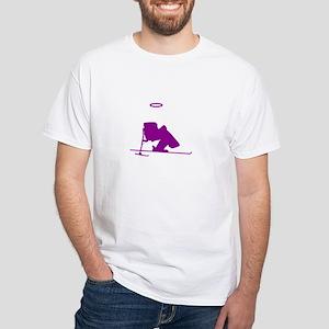 Going Downhill Fast White T-Shirt