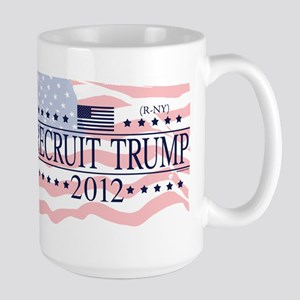 Recruit Trump 2012 Large Mug