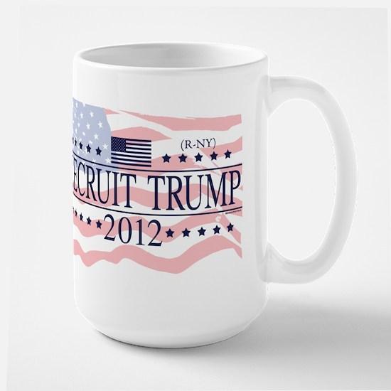 Recruit Trump 2012 Large Mug