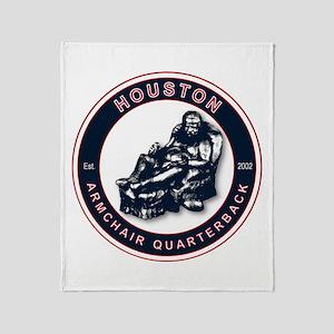 Armchair Quarterback - HOU Throw Blanket