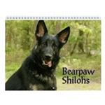 Bearpaw Shilohs Wall Calendar :2011
