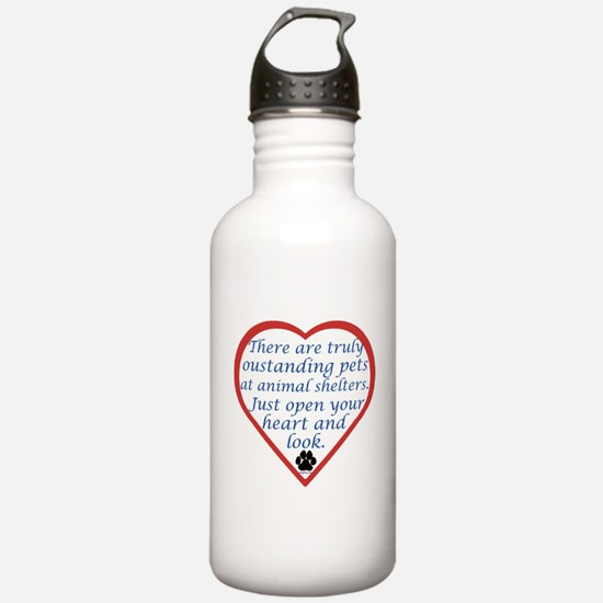 Open Your Heart Water Bottle