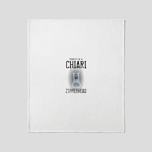 Property of A Chiari Zipperhe Throw Blanket