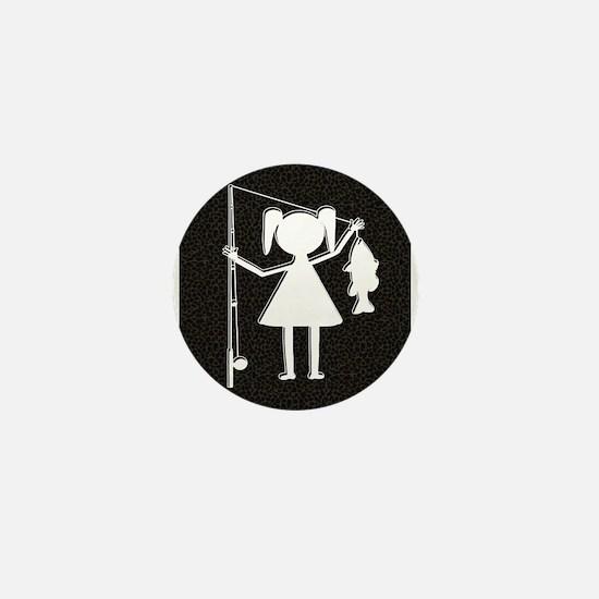 REEL GIRL Mini Button