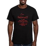 I'm Helaine Men's Fitted T-Shirt (dark)