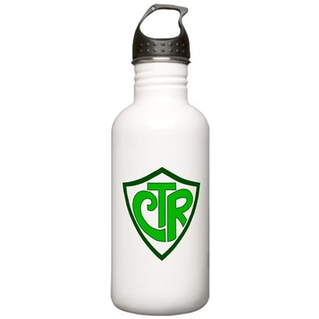 """CTR """"Choose the Right"""" Stainless Water Bottle 1.0L"""