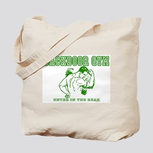 Backdoor Gym Tote Bag