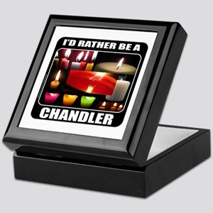 CANDLE MAKER/CANDLE MAKING Keepsake Box