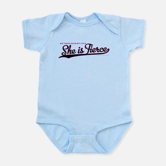 She is Fierce - Swash Infant Bodysuit