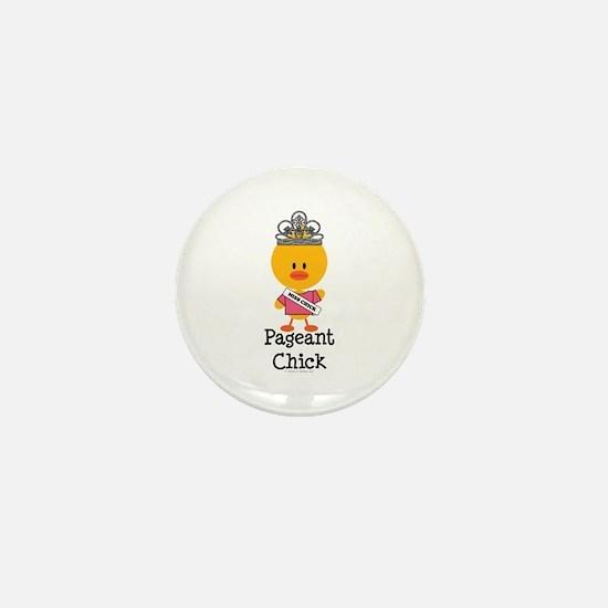 Pageant Chick Mini Button