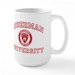 Doberman Pinscher Large Mug