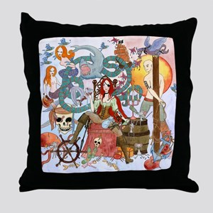 Pirate Quest Throw Pillow