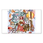 Pirate Quest Sticker (Rectangle 10 pk)