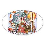 Pirate Quest Sticker (Oval 10 pk)