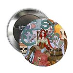 """Pirate Quest 2.25"""" Button (10 pack)"""