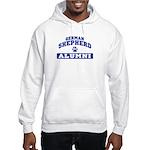 German Shepherd Hooded Sweatshirt