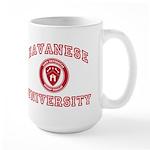 Havanese Large Mug