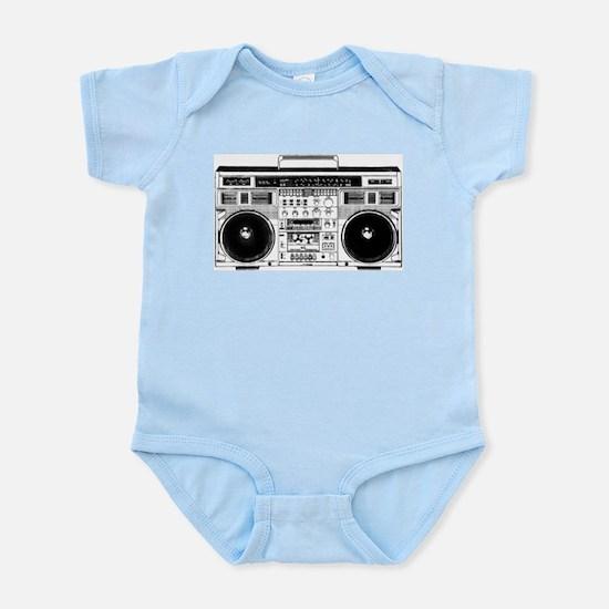 Boombox Ghettoblaster Infant Bodysuit