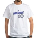 Pomeranian White T-Shirt