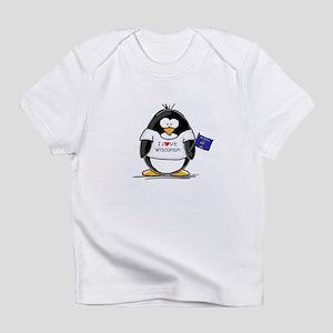 Wisconsin Penguin Infant T-Shirt